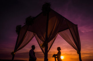 New kuta golf wedding